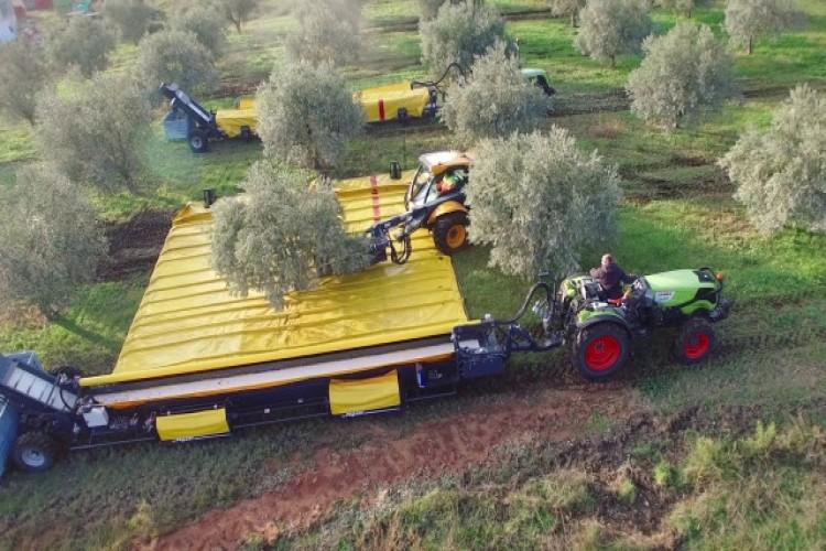 Mahsullerin Toplanmasını Hızlandırmak İçin Üretilen Araç, Zeytin Tarımında Çığır Açacak