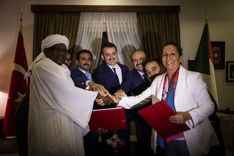 Türkiye İle Sudan Arasında Tarımsal Üretim Antlaşması İmzalandı