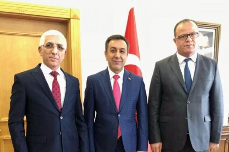 Marmarabirlik'ten Milli Savunma Bakanlığına teşekkür ziyareti