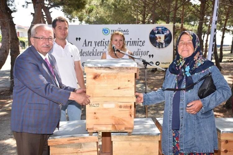 Büyükşehirden Şarköy İlçesinde Arıcılığa Büyük Destek