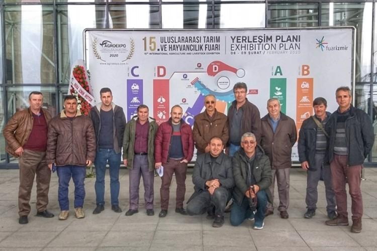 Tarım Ve Orman Müdürlüğü Çiftçileri İzmir Tarım Ve Hayvancılık Fuarına Götürdü