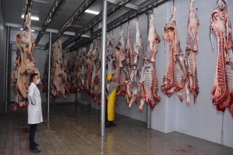 Trakya'nın en büyük et kombina tesisi Kurban Bayramı'nda vatandaşların hayvan kesim ihtiyacını karşılıyor
