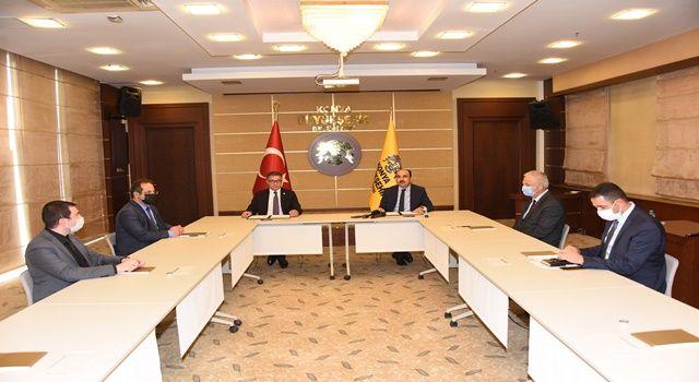 Büyükşehir ve SÜ'den Konya Tarımı İçin İşbirliği Protokolü