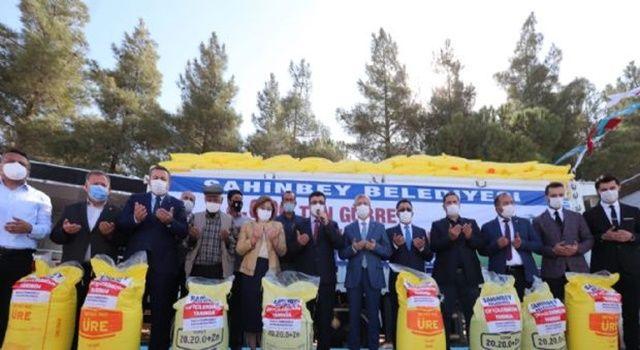 Çiftçilere 4 bin ton gübre desteği