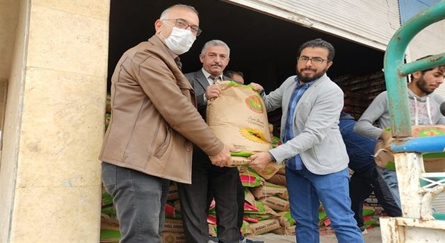 Barış Pınarı Harekatı Bölgesindeki Çiftçilere 100 Ton Tohumluk Dağıtıldı