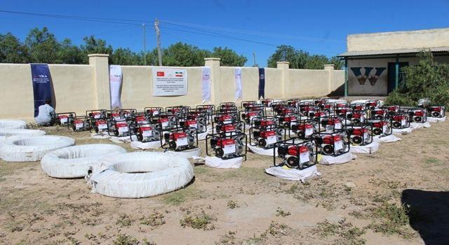TİKA'dan Somaliland'daki Çiftçilere Ekipmanı Desteği