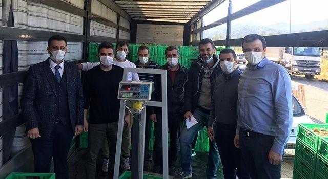 Trabzon Bölgeden ürün alım desteği