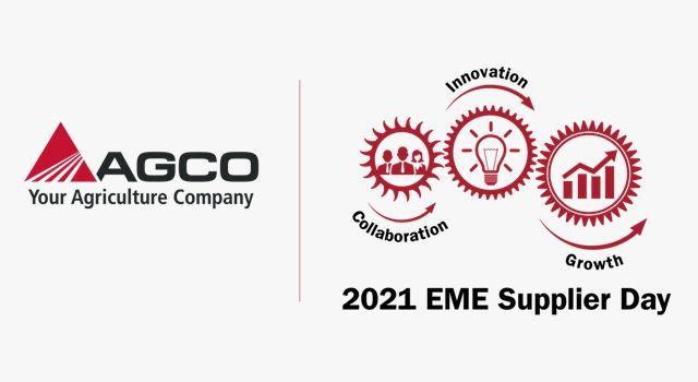 AGCO 2021 Avrupa Sanal Tedarikçi Günü