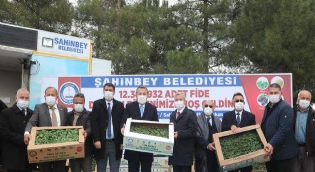 Şahinbey Belediyesinden çiftçilere büyük destek