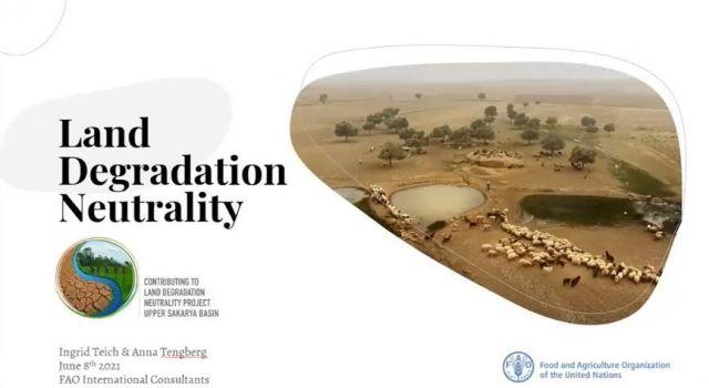 Arazi Tahribatının Dengelenmesi Konusunda Raporlamalar ele alındı