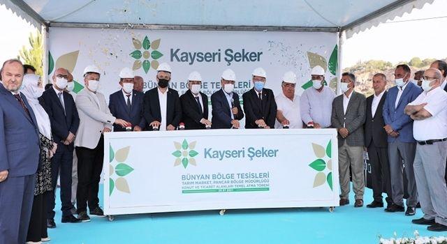 Kayseri Şeker'den Bünyan'a 10 Milyon Liralık Yatırım
