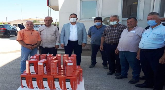 Samsun Büyükşehir Belediyesi 6 bin büyükbaş hayvan için çiftçilere kene ilacı dağıttı