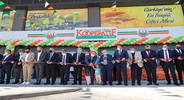 Tarım Kredi Kooperatif Marketin 471. şubesi Kayseri'de açıldı