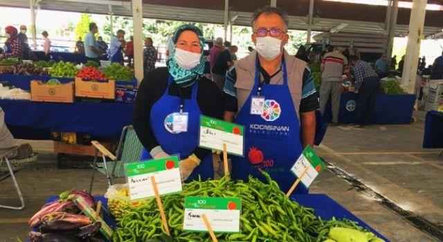 Türkiye'de ilk: Kayseri Kocasinan, sadece yerel üreticilerin katıldığı iki organik pazara ev sahipliği yapıyor