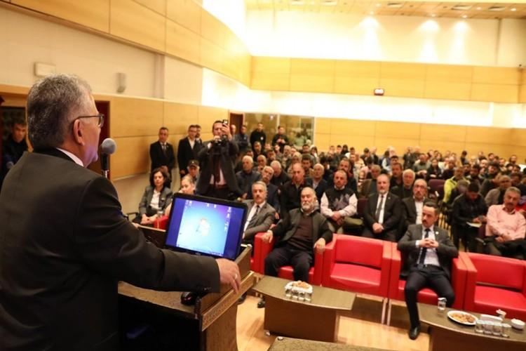 """Büyükkılıç: """"Kayseri Bal Üretiminin Merkezi Olacak"""""""