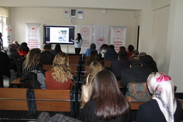 Kantin Çalışanlarına ve Öğretmenlere Gıda Güvenliği ile Hijyen Eğitimi