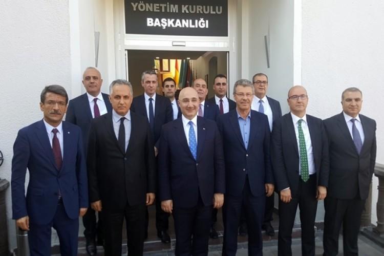 Türkiye Halk Bankası Genel Müdüründen Kayseri Şeker'e Ziyaret