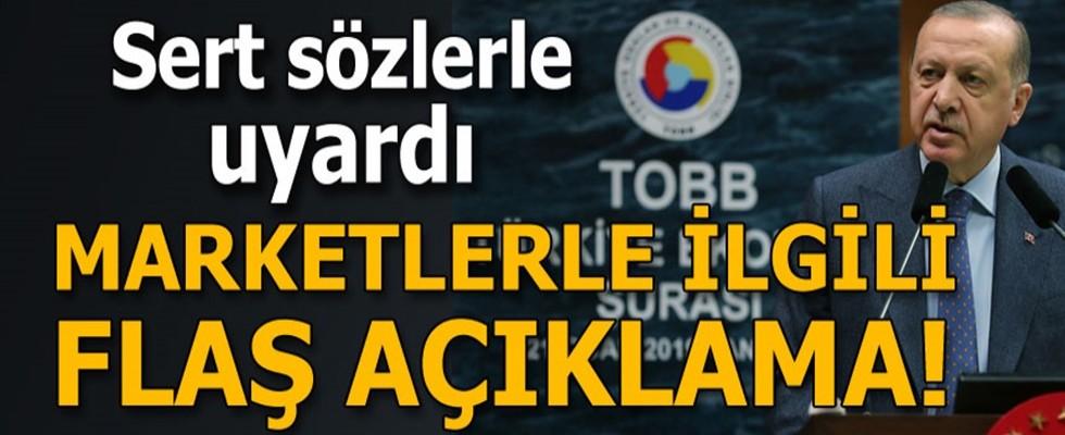 Cumhurbaşkanı Erdoğan Sert Sözlerle Marketleri Uyardı Hesabını Sorarız