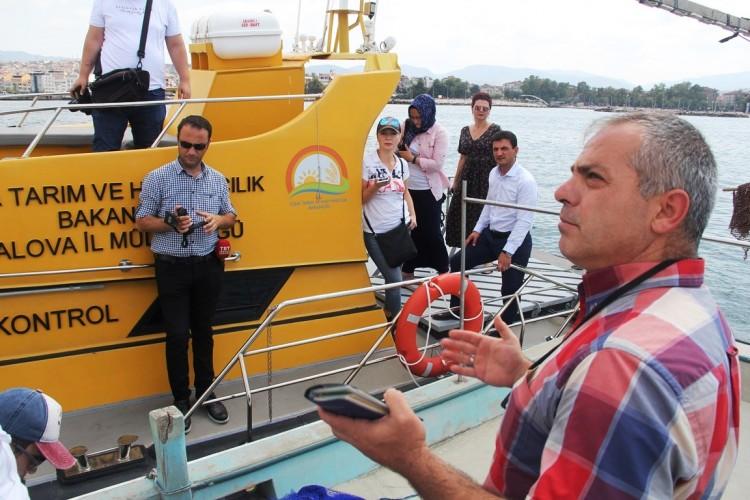 İl Müdürü Basın Mensuplarıyla Birlikte Su Ürünleri Denetimi Yaptı