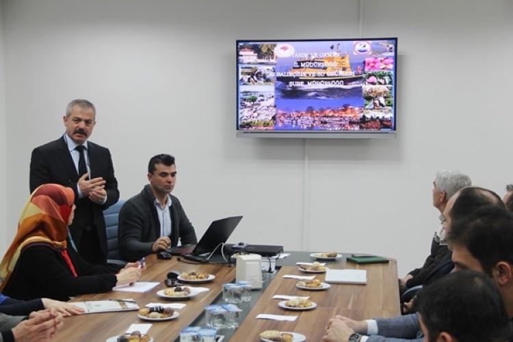 Yalova'da Su Ürünleri Kanunu Bilgilendirme Toplantısı Yapıldı
