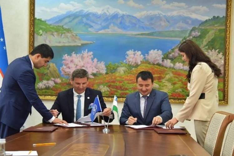 FAO İle Özbekistan Proje Belgelerini İmzaladı