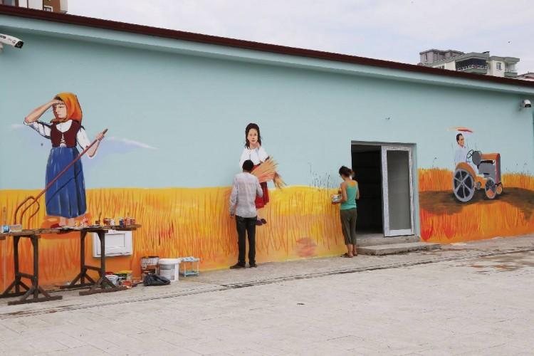 Atakum Belediyesi'nin Ata Tohum Merkezi sanatla renklendi