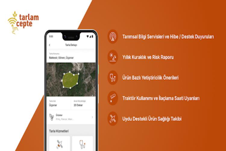 """TürkTraktör'ün """"Tarlam Cepte"""" Akıllı Tarım Uygulamasından 20.000 Çiftçi Yararlanıyor"""