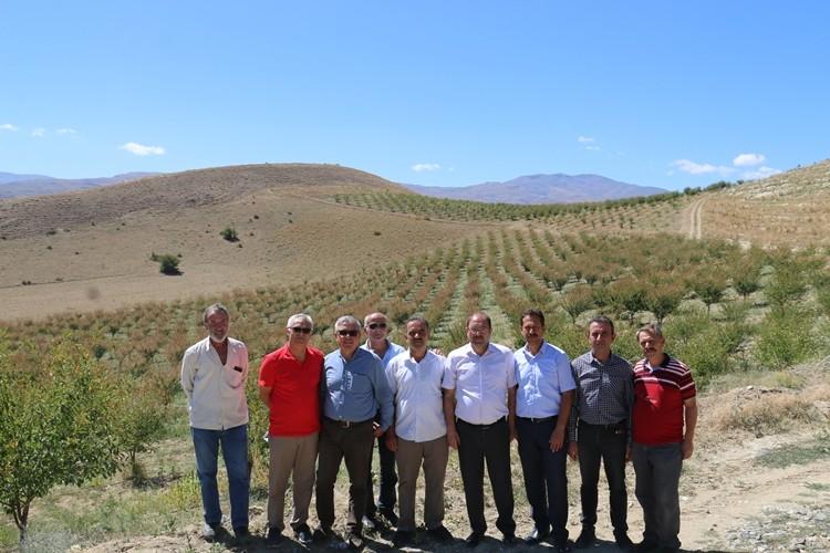 Erzincan'da Tarımsal Üretim Yapan Tesisler Ziyaret Edildi