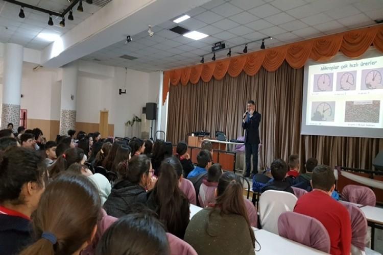 """Giresun'da Öğrencilere """"Gıda Güvenirliği, Gıda Kayıpları ve İsrafı"""" Eğitimi Verildi"""