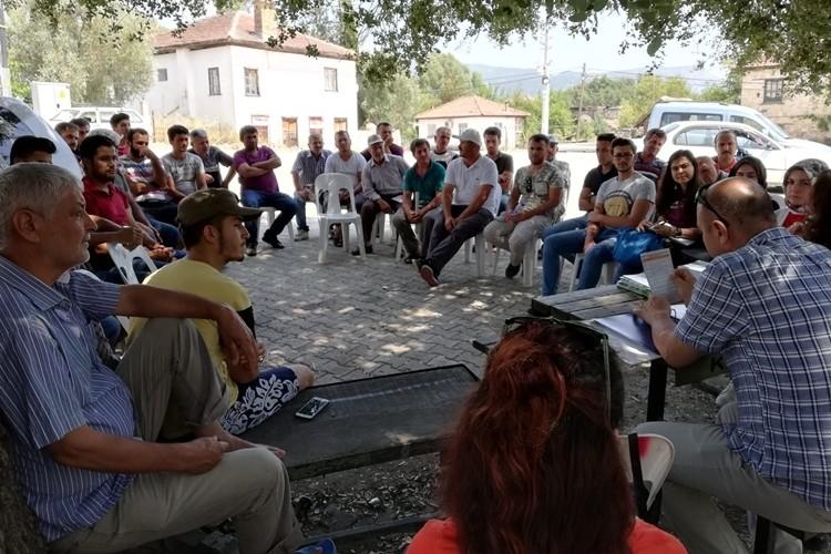 Kaş'ta Geniş Kapsamlı Çiftçi Eğitim Çalışması Yapıldı