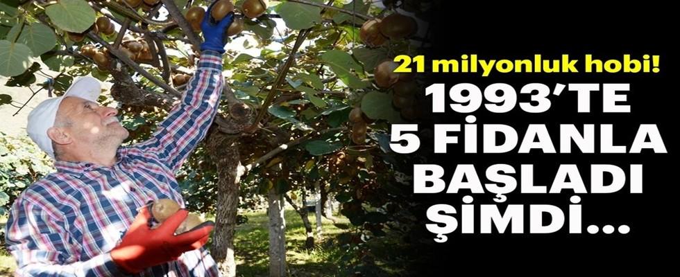 21 Milyonluk Hobi! 1993'te 5 Fidan İle Başladı...