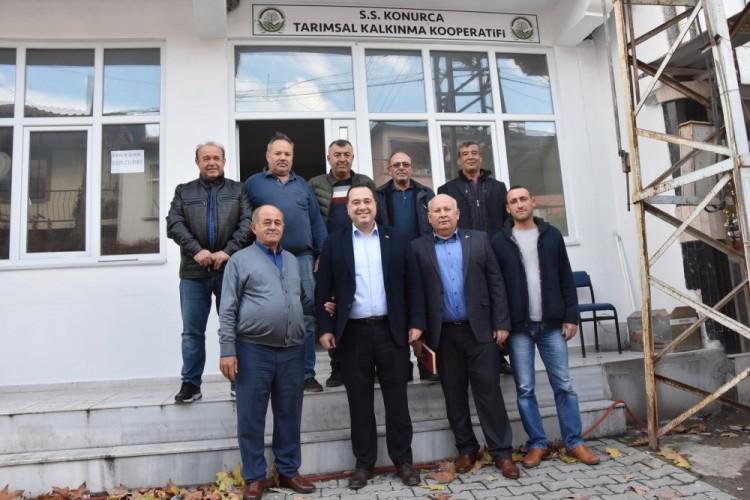 Akhisar Belediyesi'nden tarım kooperatiflerine tam destek