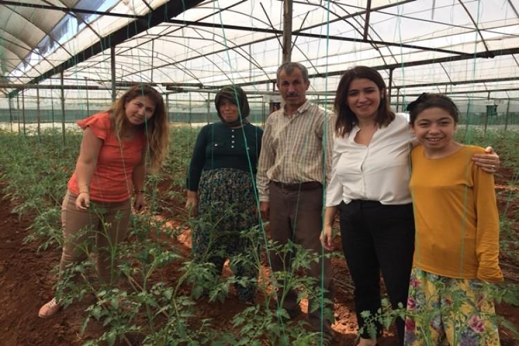 Antalya'nın Tarım İlçe Müdürleri 6 Bin Üreticiyi Ziyaret Etti