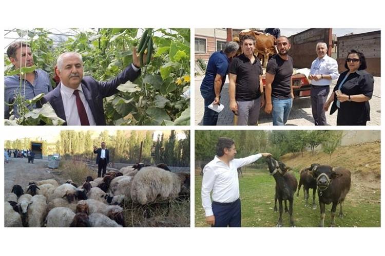 251 Genç Çiftçiye 7.530.000 TL'lik hibe desteği verildi