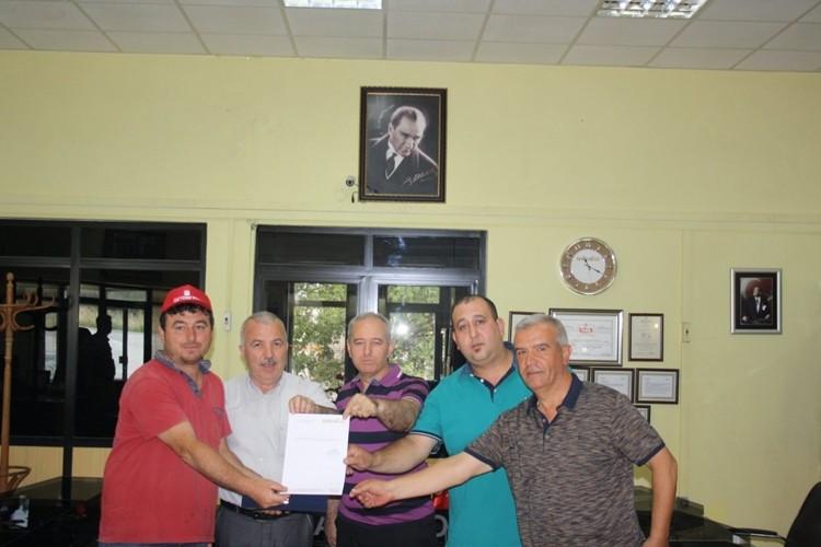 Trakya'da Yılın İlk Ürünü Buğday Borsada Satıldı