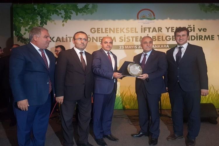 Tarım İl Müdürlüğü Kalite Yönetim Sistemi Belgesine Kavuştu