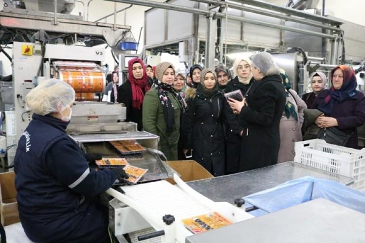 Kadın Üreticiler Marmarabirlik'i İlk Kez Ziyaret Etti