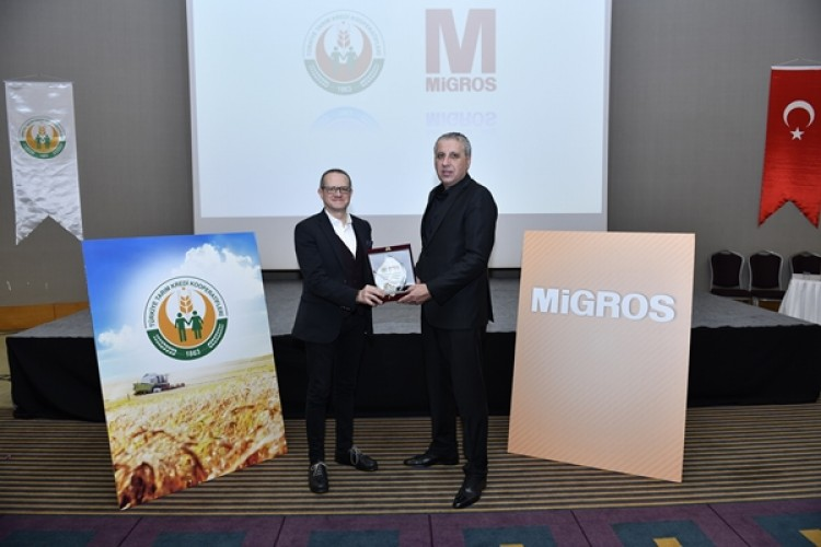 Migros, Tarım Kredi Kooperatifleri'nden Ürün Alımını 100 Milyon TL'ye Çıkarıyor
