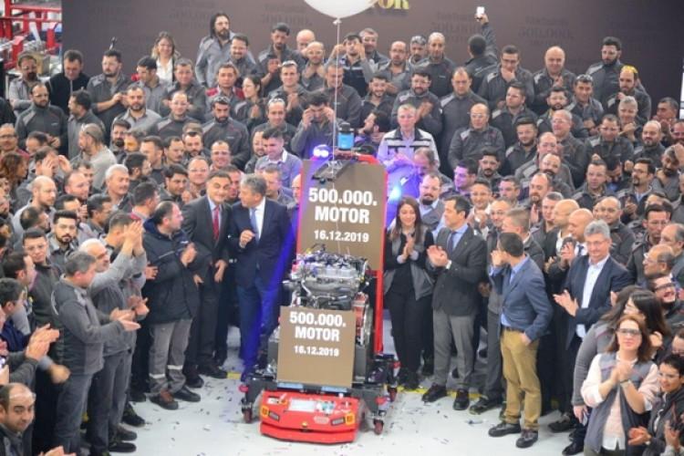 Türktraktör'den 500 Bininci Yerli Motor