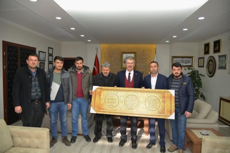 Başkan Akay'a Genç Çiftçilerin Ziyaretleri Sürüyor