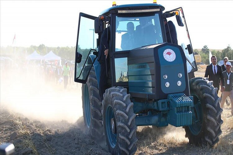 Elektrikli traktör için tarih netleşti