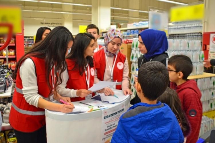 Genç Gönüllü Gıda Dedektifleri Görev Başında