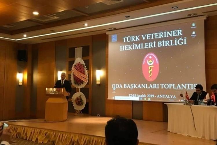 Veteriner Hekimler Antalya'da toplandı
