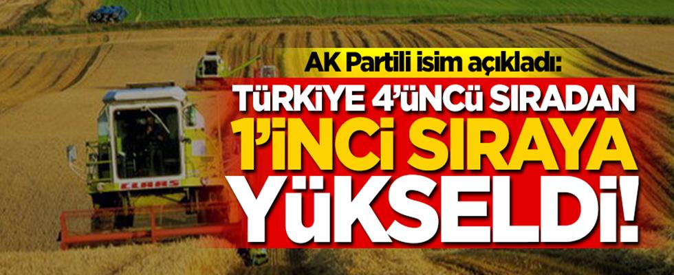 Türkiye tarımsal alanda Avrupa'da 1. sıra