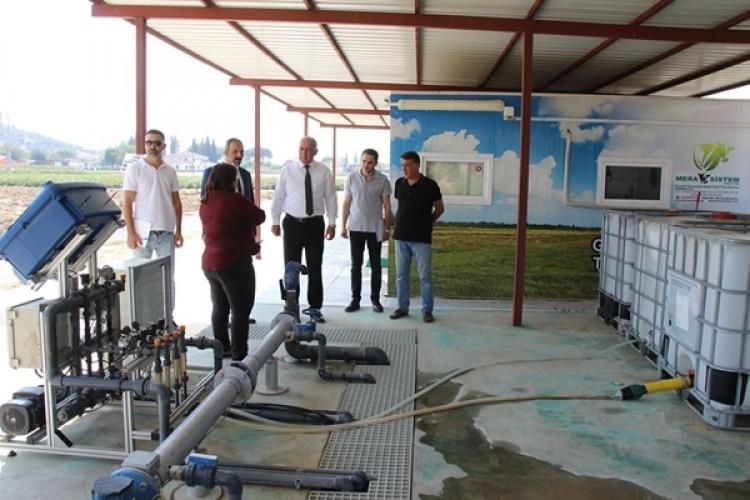Başkan Tuncel'den TABİT Akıllı Köy Ziyareti