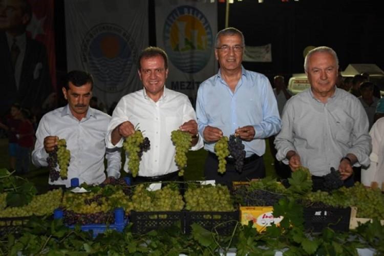 Mersin'de 3. Örtüaltı Üzüm Festivali Düzenlendi