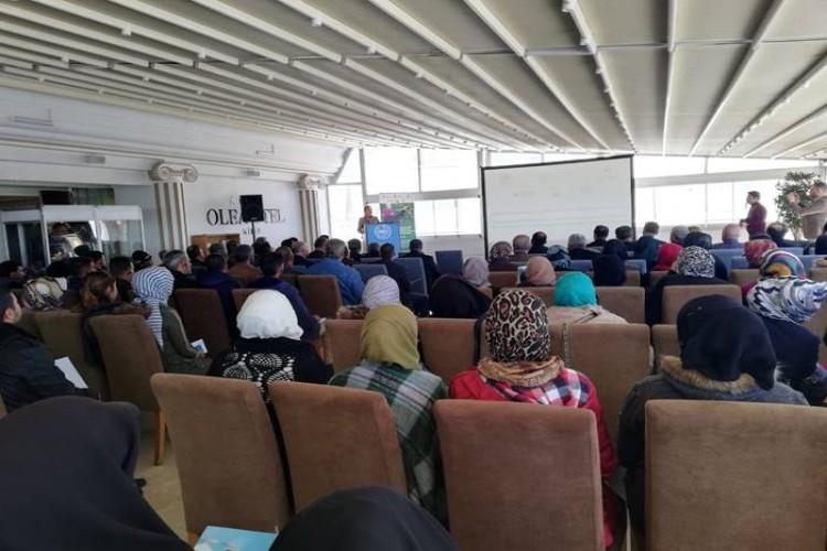 Suriye'li Mültecilere Kilis'te İstihdam Fuarı