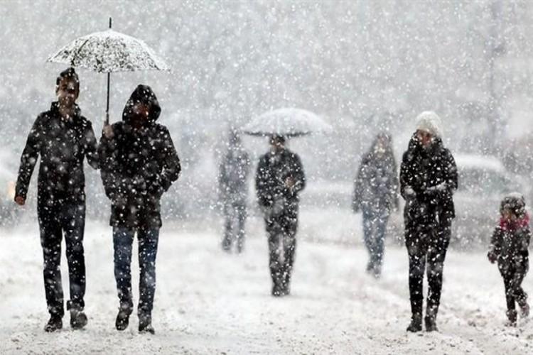 Meteoroloji'den Birçok İle Kar ve Kuvvetli Yağış Uyarısı