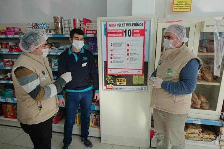 """Koronavirüse Karşı Gıda İşletmelerine """"10 ALTIN KURAL"""" Çağrısı"""