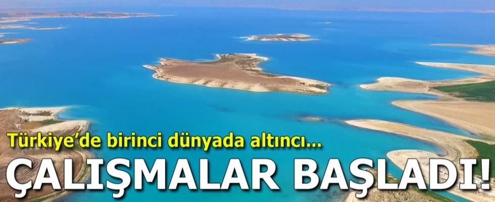 Çalışmalar başladı! Türkiye'de birinci, dünyada altıncı...